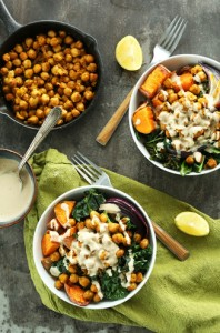 Chickpea & Lemon Tahini Buddha Bowl